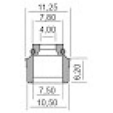 Гумички за клапани за APRILIA, DERBI, GILERA, PIAGGIO 4X7.5-10.5X6.2 100669210