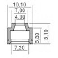 Гумички за клапани за PEUGEOT, SUZUKI 4X7.2X6.3-8.10 100669250
