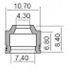 Гумички за клапани за PEUGEOT 4,3X7.4X6.8-8.4 100669260