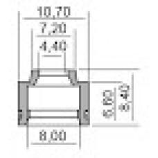 Гумички за клапани за SYM 4,4X8X6,6-8,4 100669290